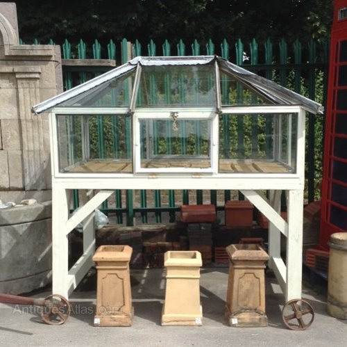 Antiques Atlas Small Victorian Style Greenhouse