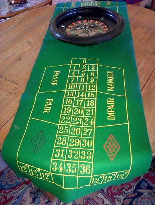 Roulette felt layout uk