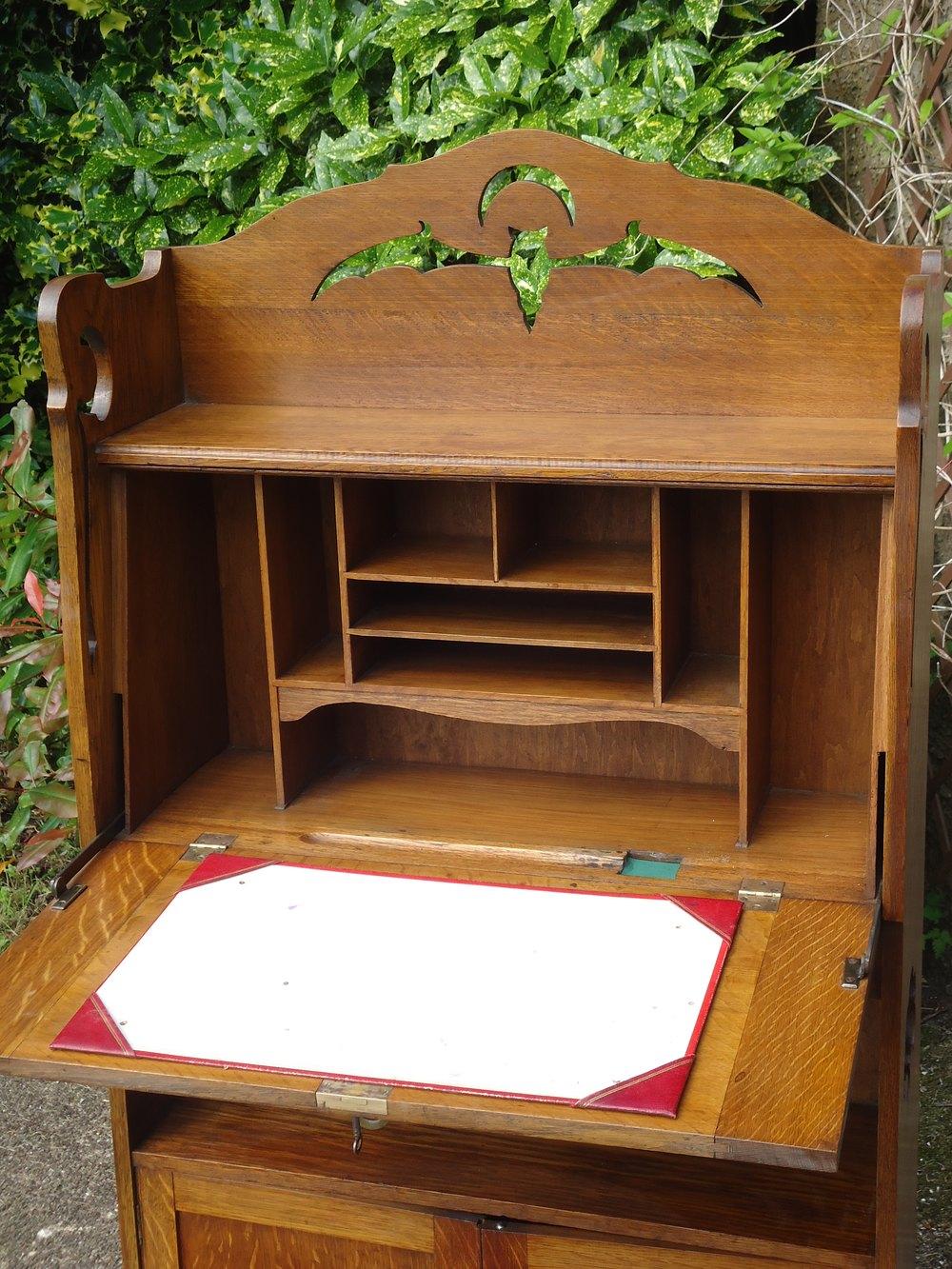 Arts and crafts bureau - Antique Bureaus Arts Crafts Bureau Bookcase Bureau