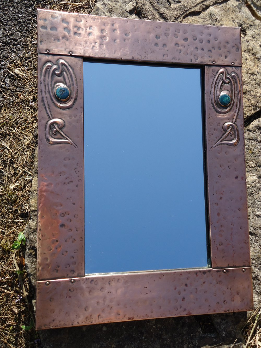 Antiques Atlas Arts Amp Crafts Copper Mirror In The