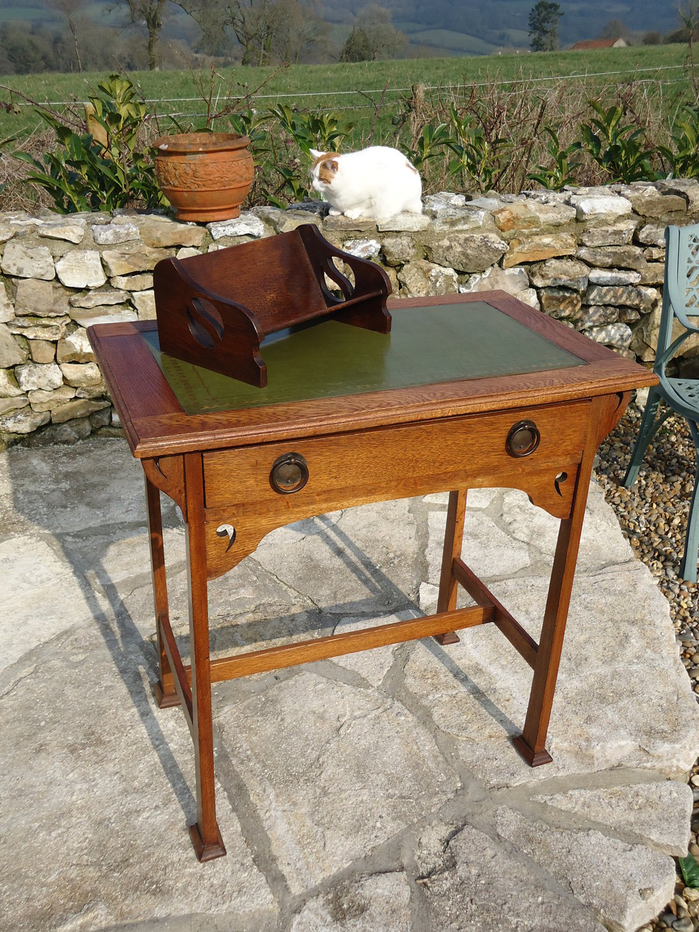 arts and crafts writing desk Results 1 - 11 of 11  shop from the world's largest selection and best deals for arts & crafts/mission  style writing desks office furniture shop with confidence on.