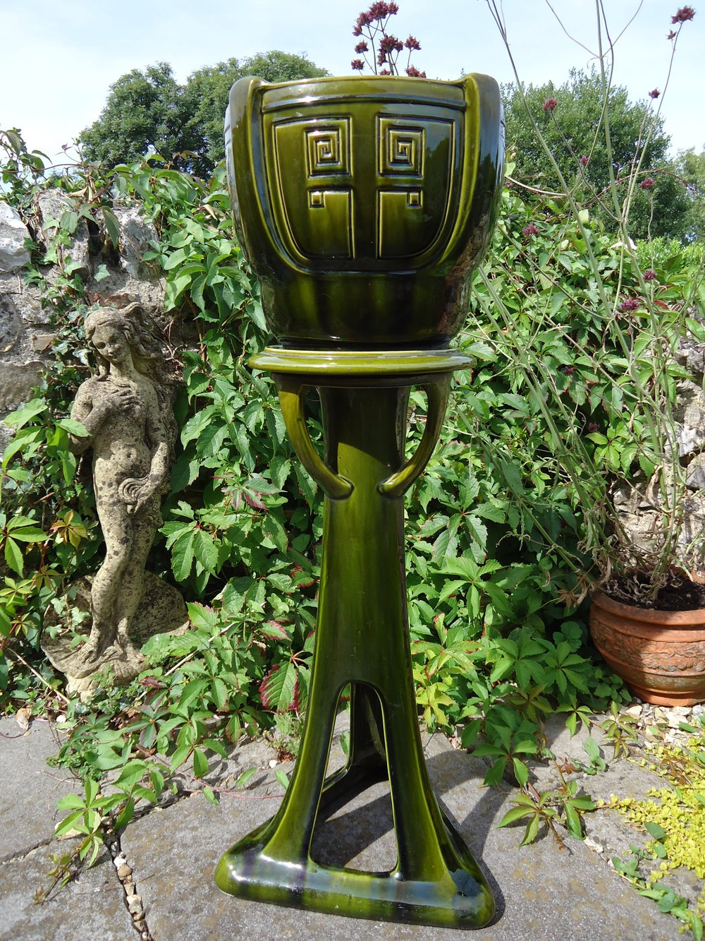 vintage large jardiniere eBay
