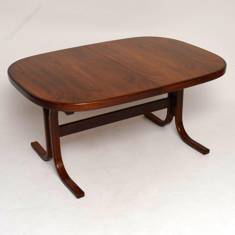 Antiques Atlas Danish Retro Rosewood Extending Dining Table