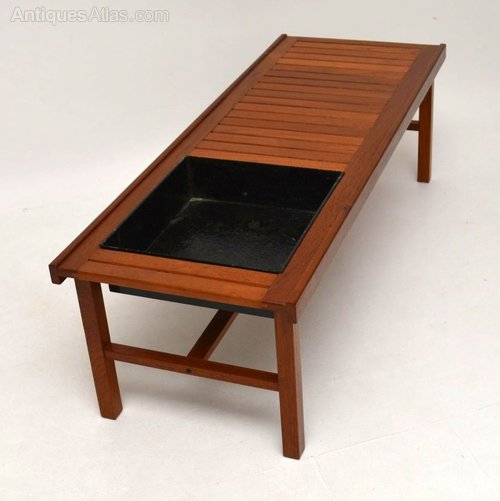 Danish Retro Teak Coffee Table / Bench