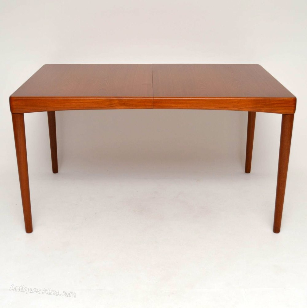 Antiques atlas danish teak retro dining table by bramin for Retro dining table