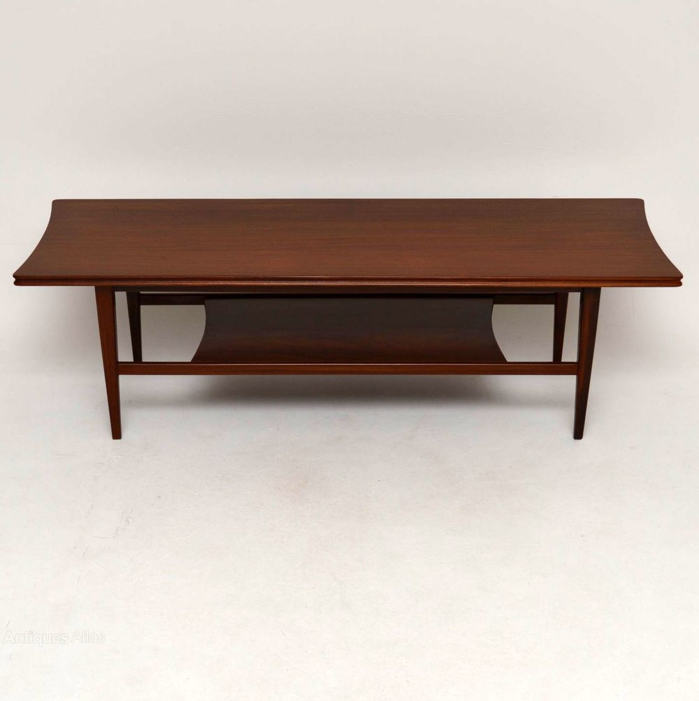 Antiques Atlas Retro Afromosia Coffee Table By Richard Hornby