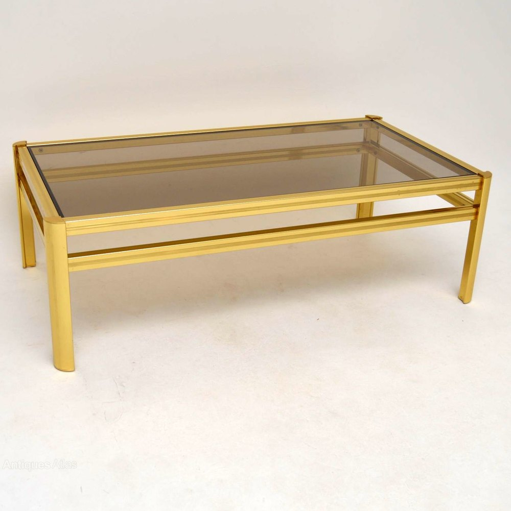 Antiques Atlas Retro Brass Coffee Table Vintage 1970 39 S
