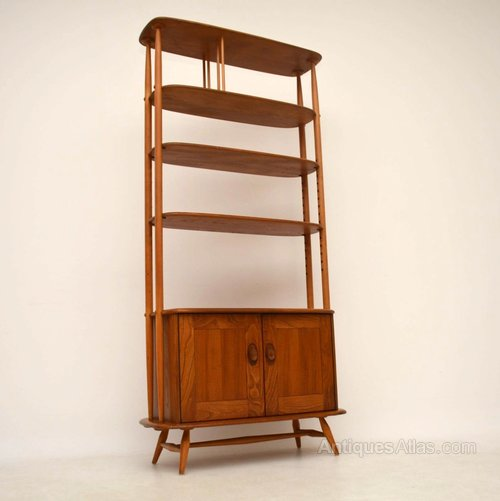 Antiques Atlas Retro Elm Bookcase Room Divider By