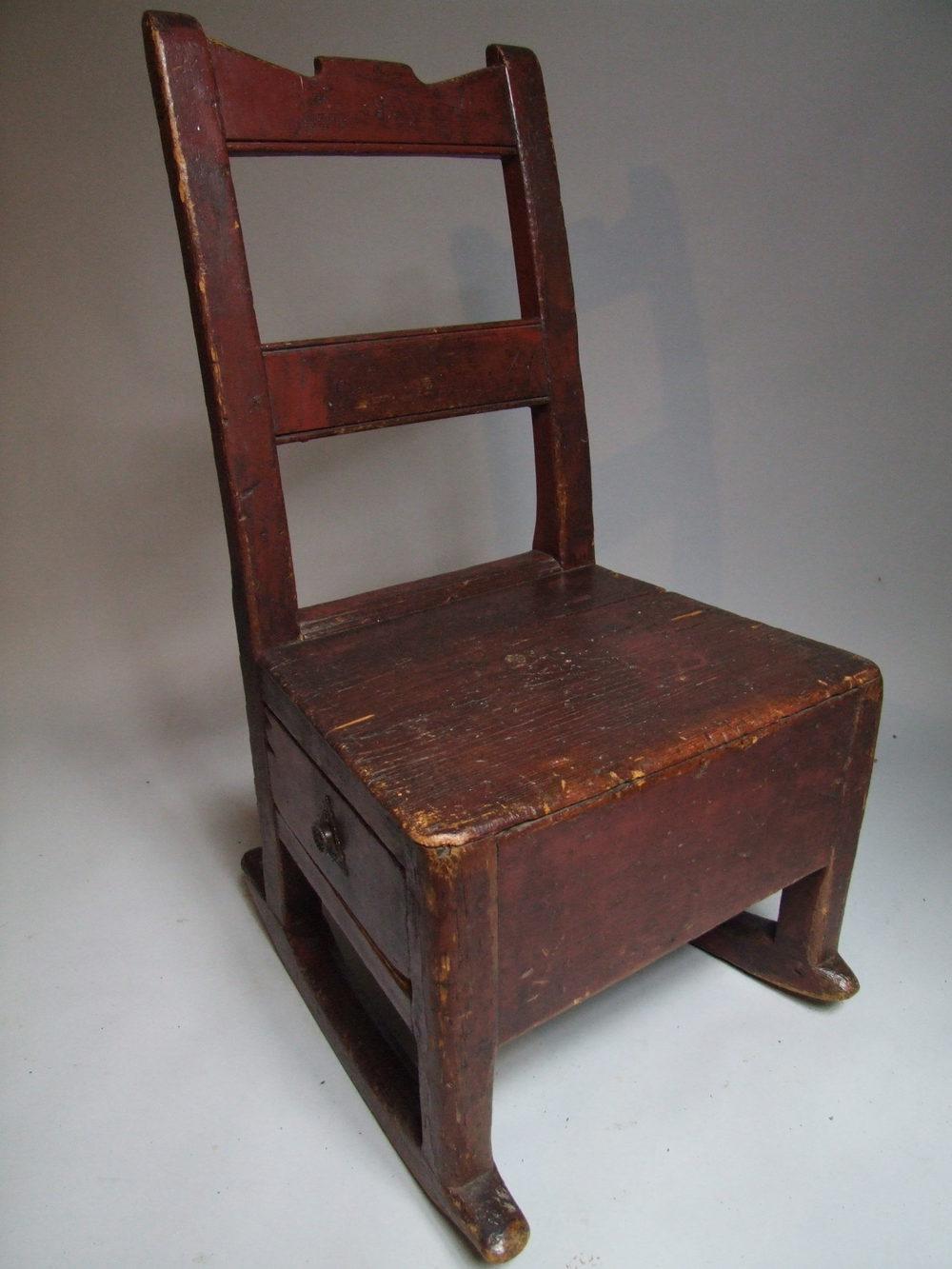 19th Century Welsh Nursing Chair Antiques Atlas
