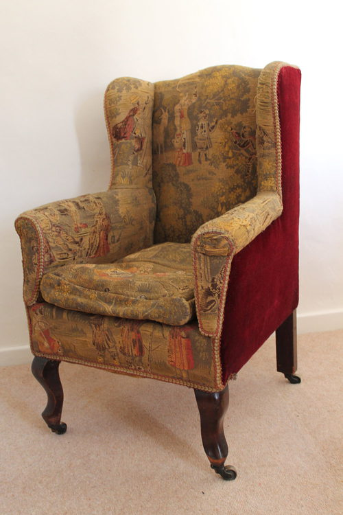 Child S Early 20th C Wingback Chair Antiques Atlas
