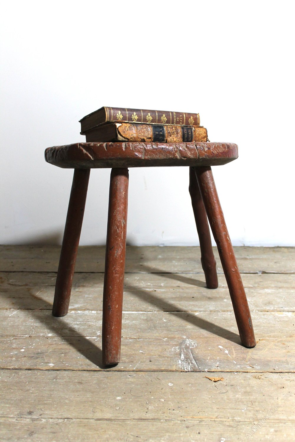 Early 19th C West Country Stool Antiques Atlas