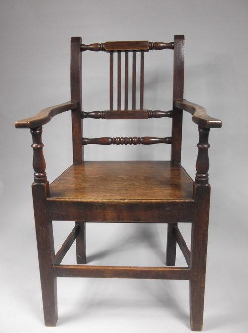 Lancashire Oak Chair Mid 19th Century Antiques Atlas