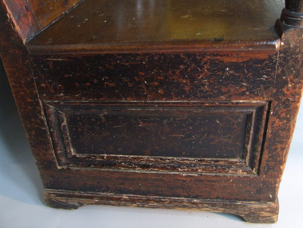 Welsh Box Settle Fruitwood Oak And Pine Antiques Atlas