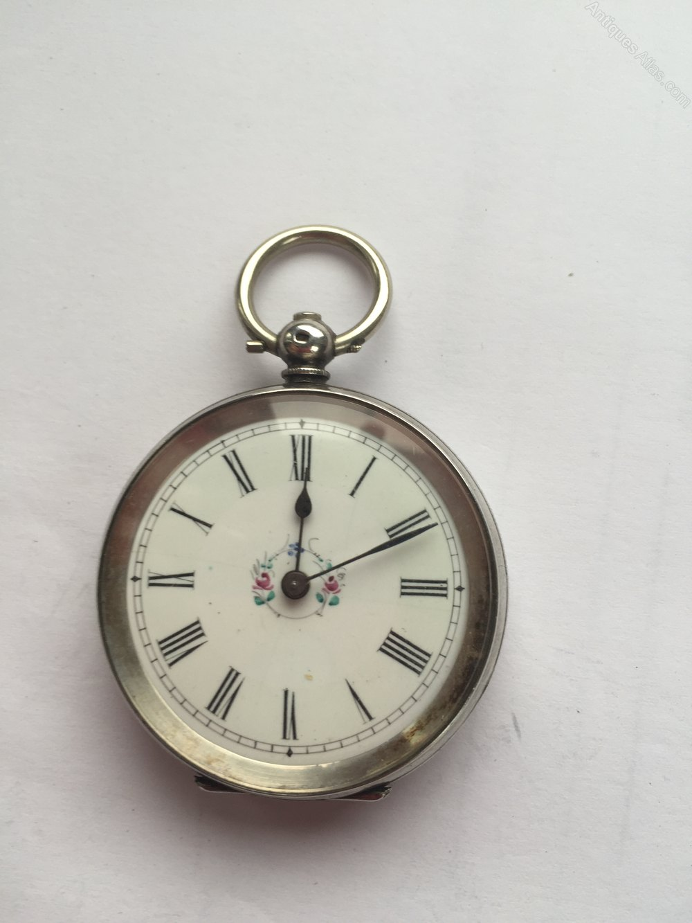 Antiques Atlas Antique Ladies Silver French Pocket Watch