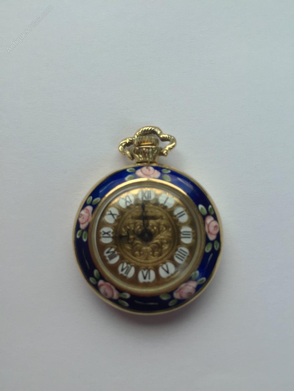 antiques atlas enamel pocket