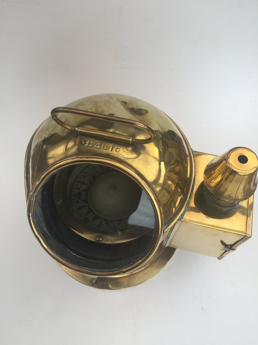 Antique Binnacle Sestrel Compass from Henry Browne and Son