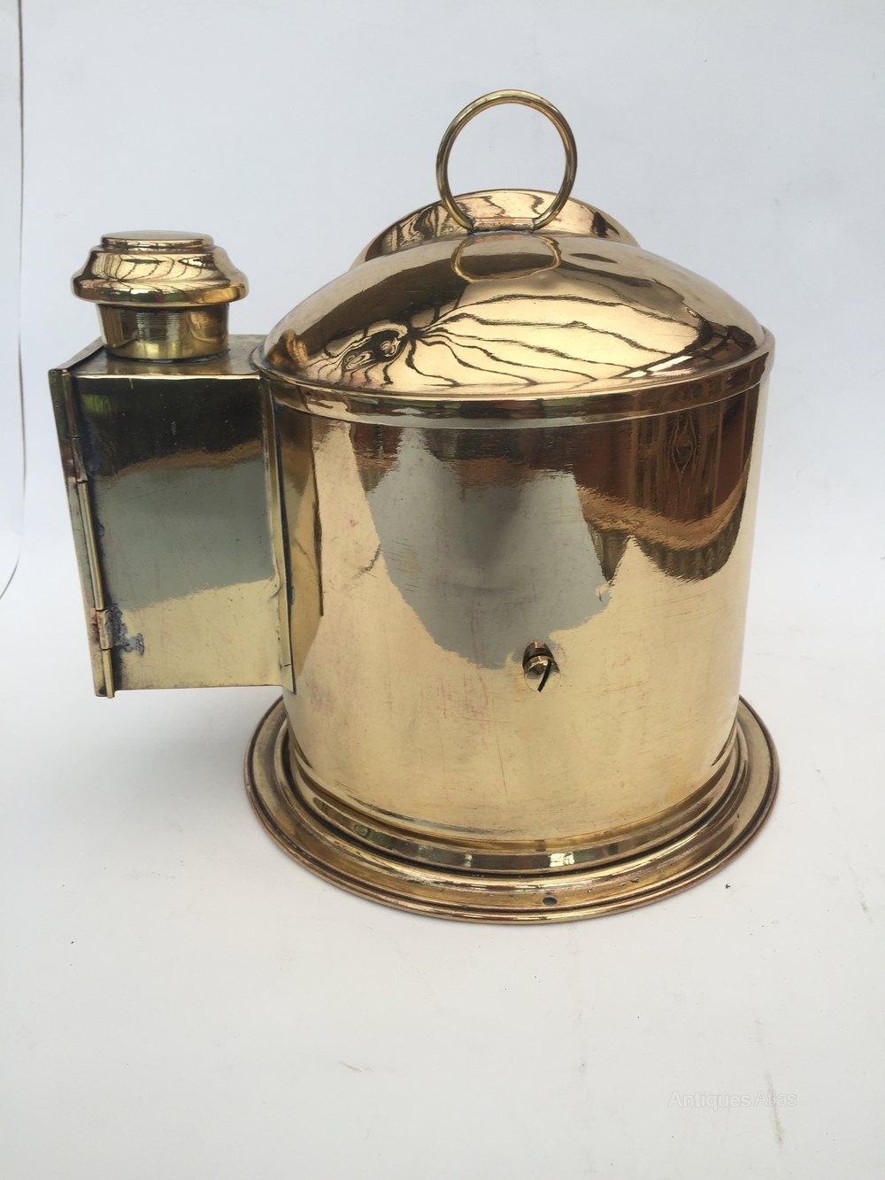 Stylish Antique brass maritime vintage binnacle compass