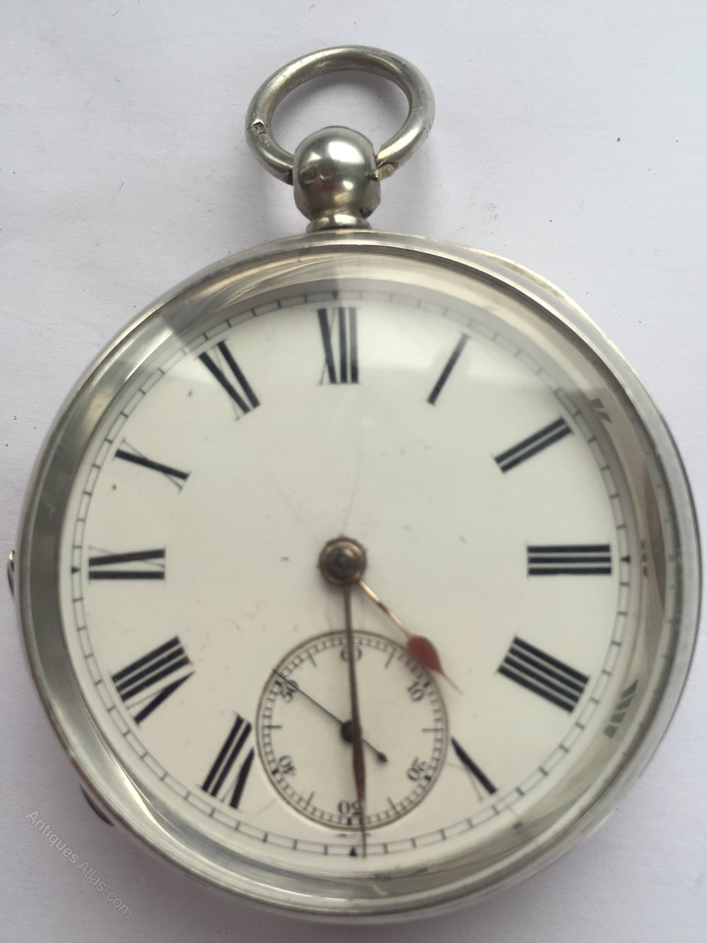 antiques atlas silver pocket birmingham 1902