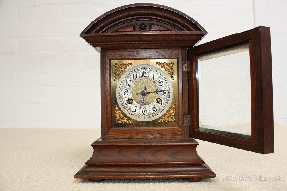 Antiques Atlas - A Good Decorative Mantle Clock