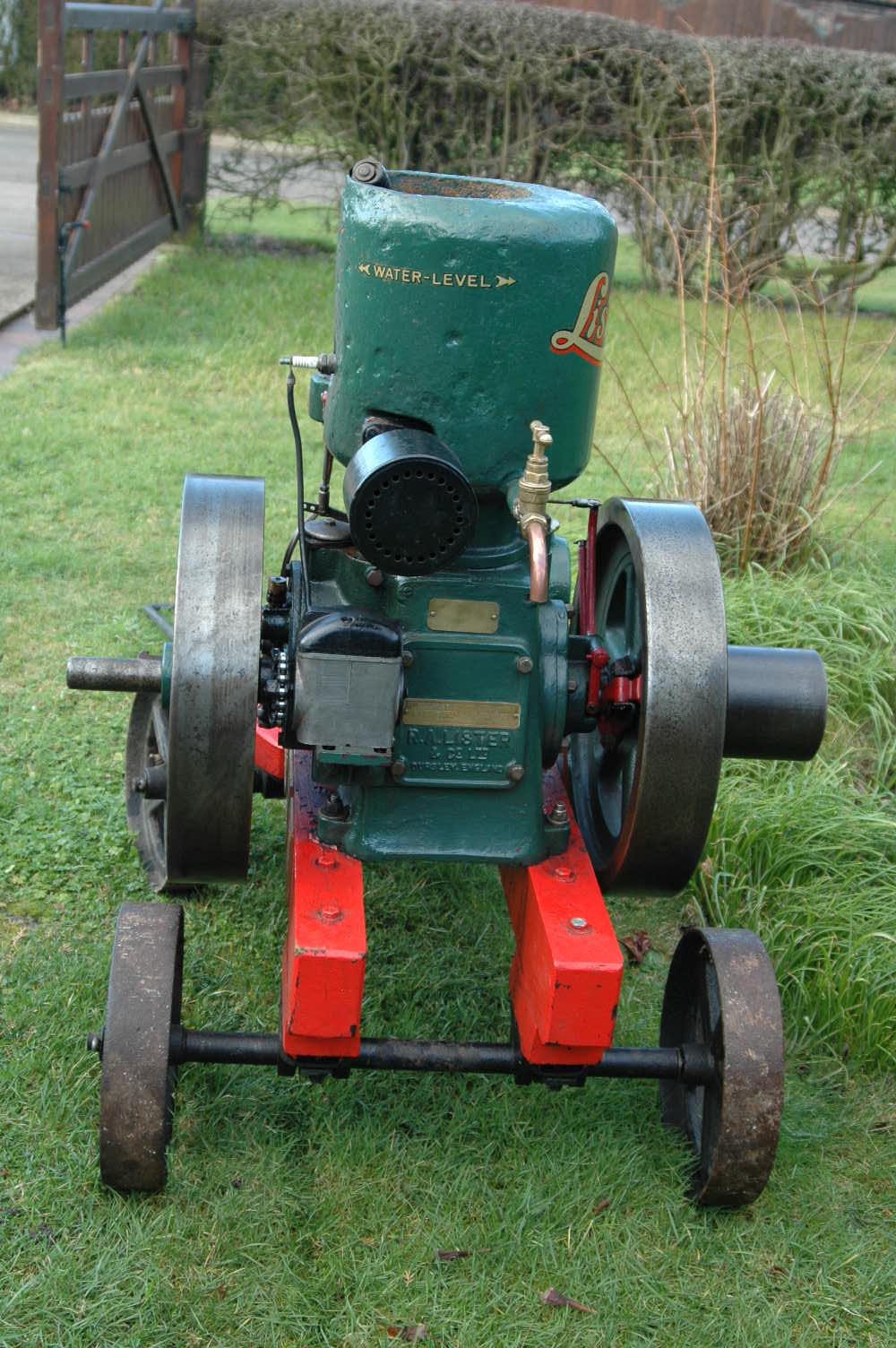 Antiques atlas lister 39 a 39 stationary engine for Stationary motors for sale