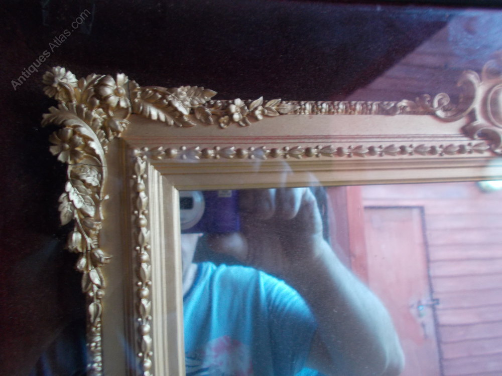 Antiques atlas lovely quality gilt frame mirror for Mirror quality