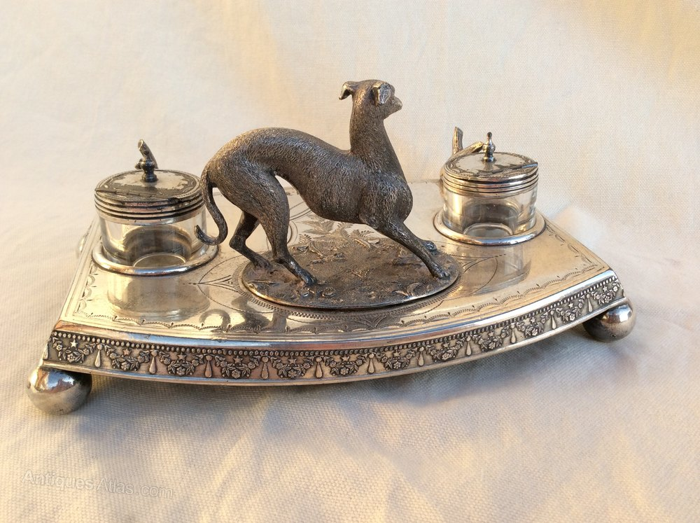 Antiques Atlas Antique James Deakin Amp Son Inkwell Silver