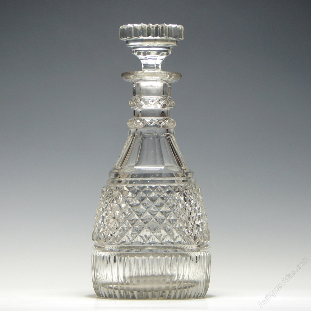 dating crystal decanters 18th 19th century english georgian victorian antique glass antique glass decanters.