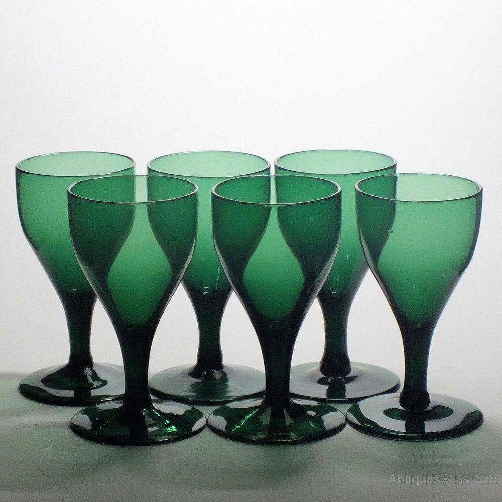 Bristol Green Glass Bowl