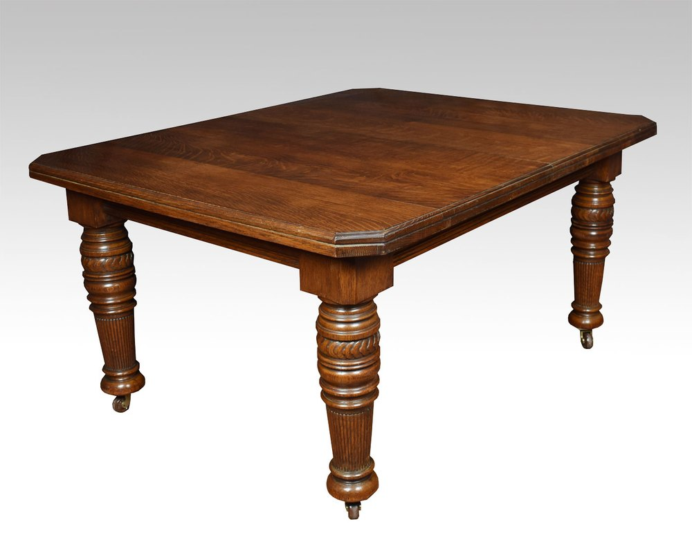 19th century oak dining table antiques atlas - Antiques dining tables ...