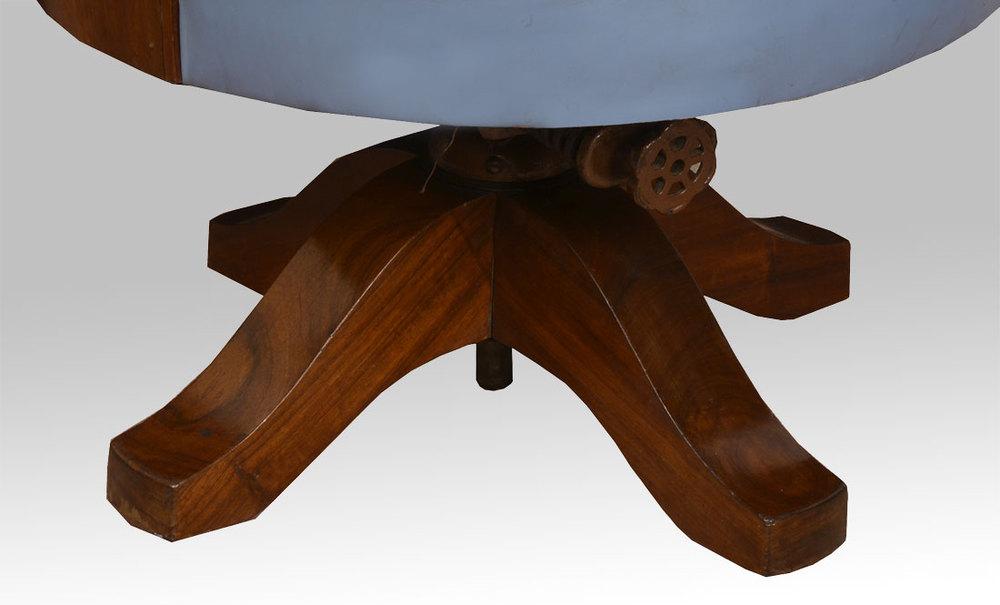 art deco mahogany framed office chair art deco mahogany framed office chair