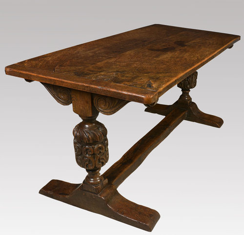 Carved Oak Refectory Table  Antiques Atlas. Bamboo End Table. White Storage Drawers. Cheap Large Desk. Adjustable Height Desk Diy. Glass Writing Desk With Drawers. Round Wood Table Tops. Table Top Glass Display Case. Glass Table Top