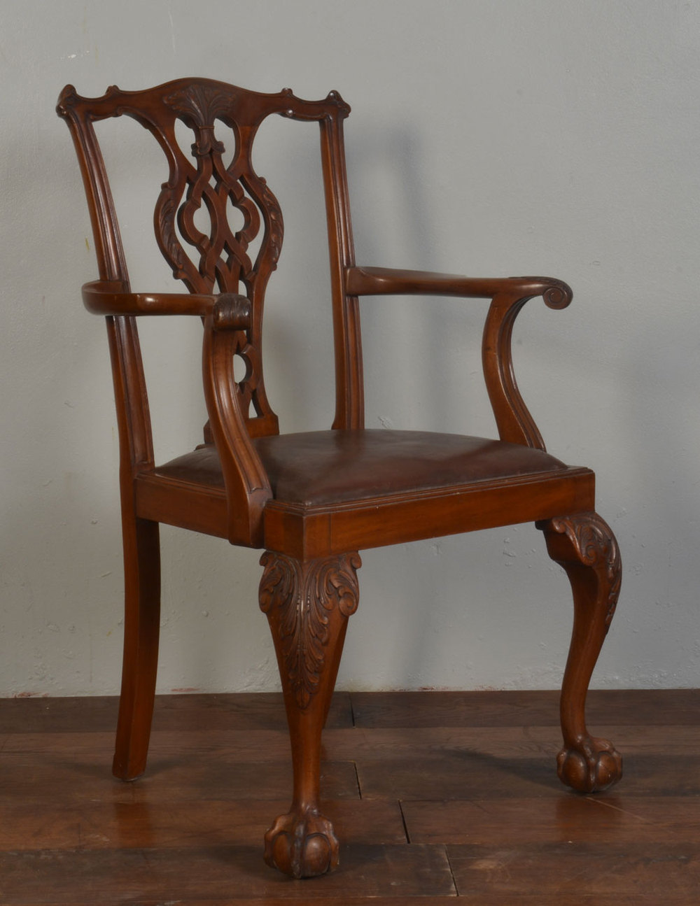 Chippendale Style Arm Chair Antiques Atlas