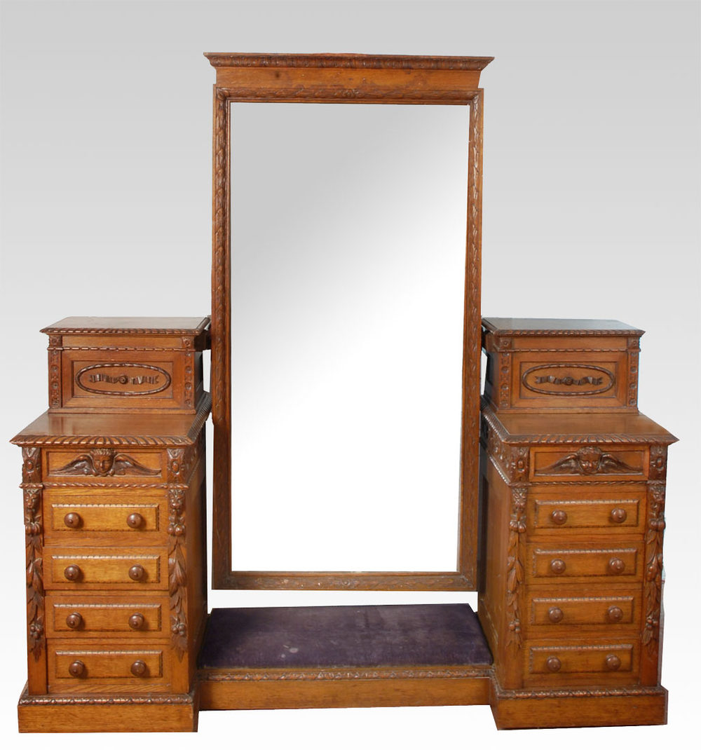 Dressing table by howard and sons antiques atlas for Dining table dressing