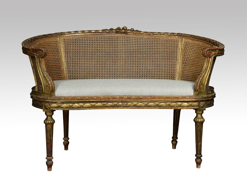 French Louis Xvi Style Canape Settee Antiques Atlas