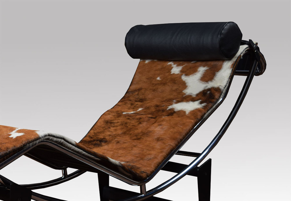 Antiques Atlas Le Corbusier LC4 Lounge Chair In Cowhide