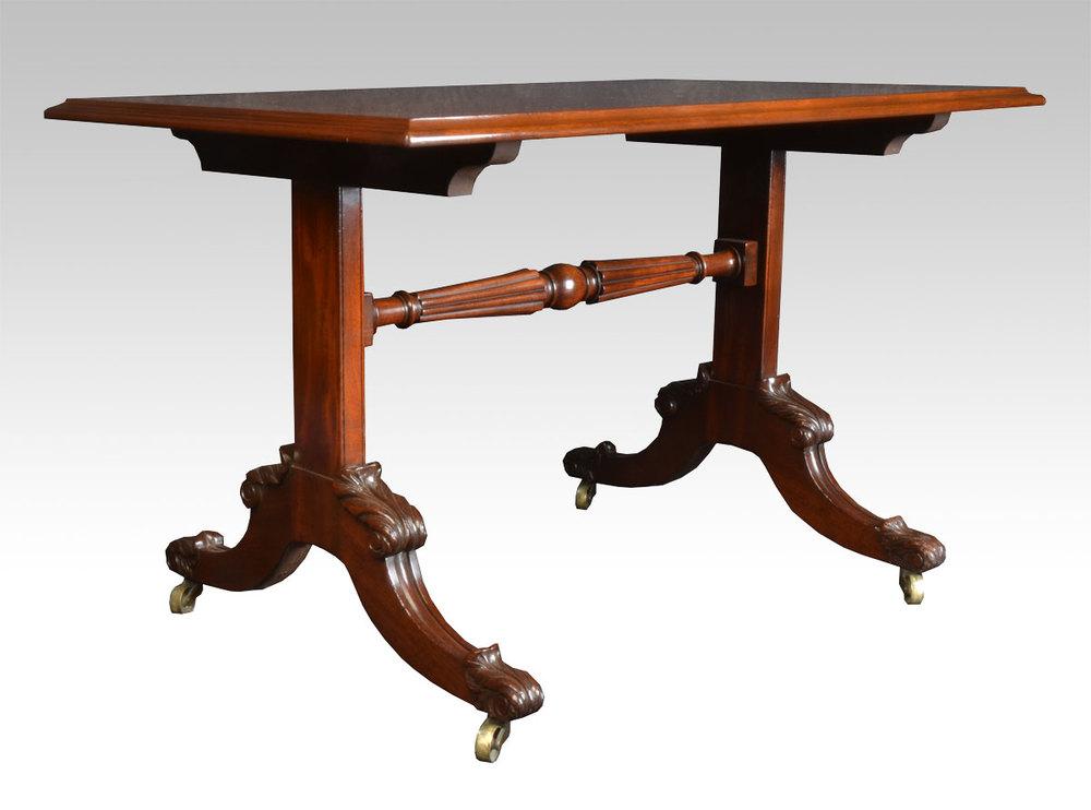 Mahogany coffee table antiques atlas for Mahogany coffee table