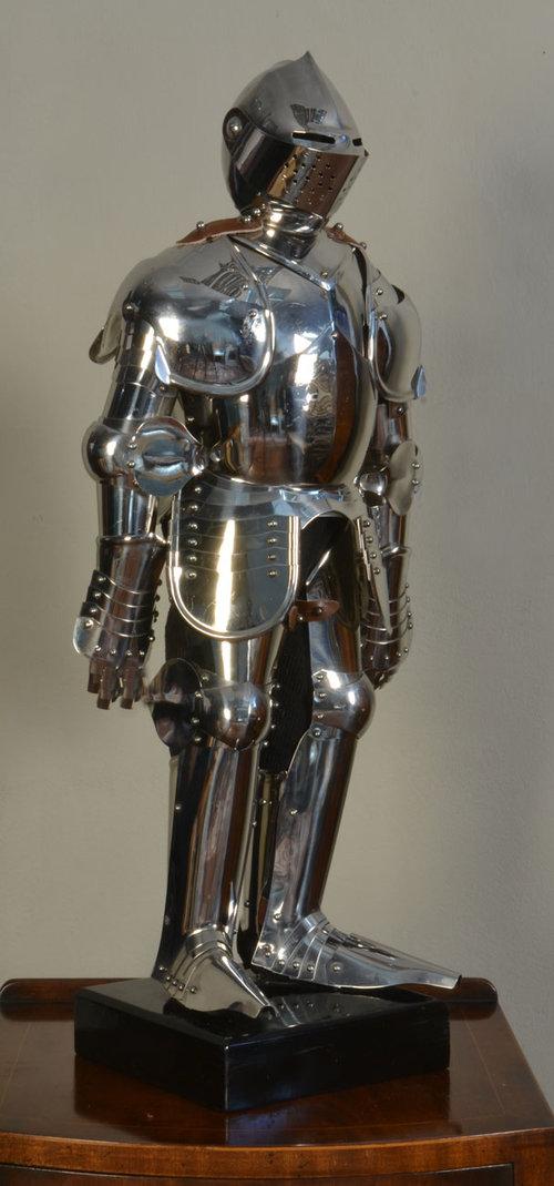 Antiques Atlas Miniature Full Suit Of Armour