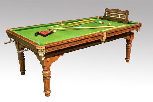 Antiques Atlas Quarter Size Snooker Dining Table : QuarterSizeSnookerDiningTaas135a957b from www.antiques-atlas.com size 500 x 334 jpeg 30kB