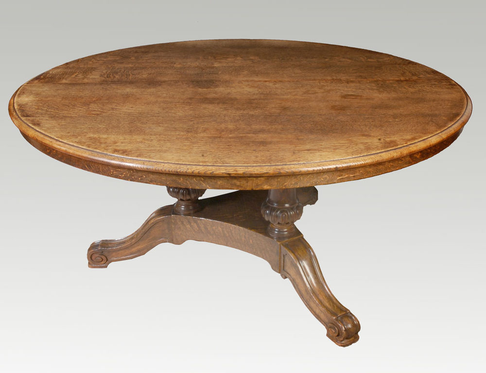 Five foot round dining table antiques atlas - Antiques dining tables ...