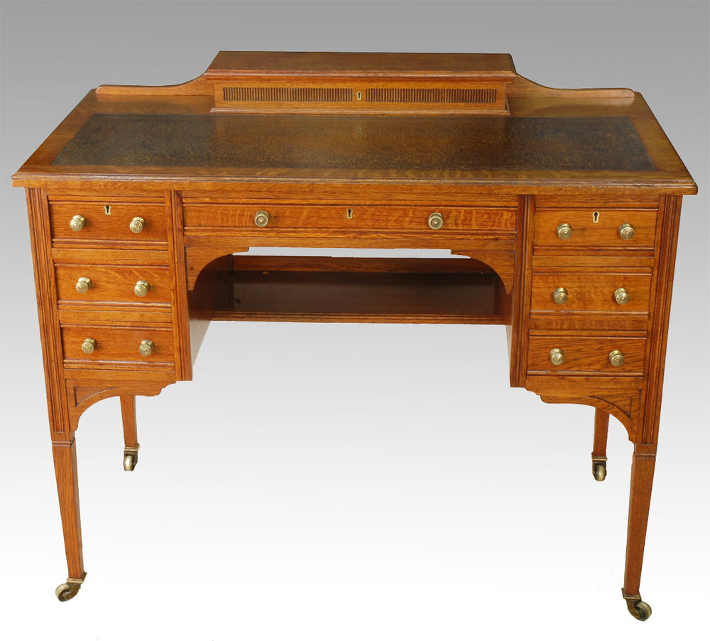 Antique Writing Desk ~ Oak writing desk antiques atlas