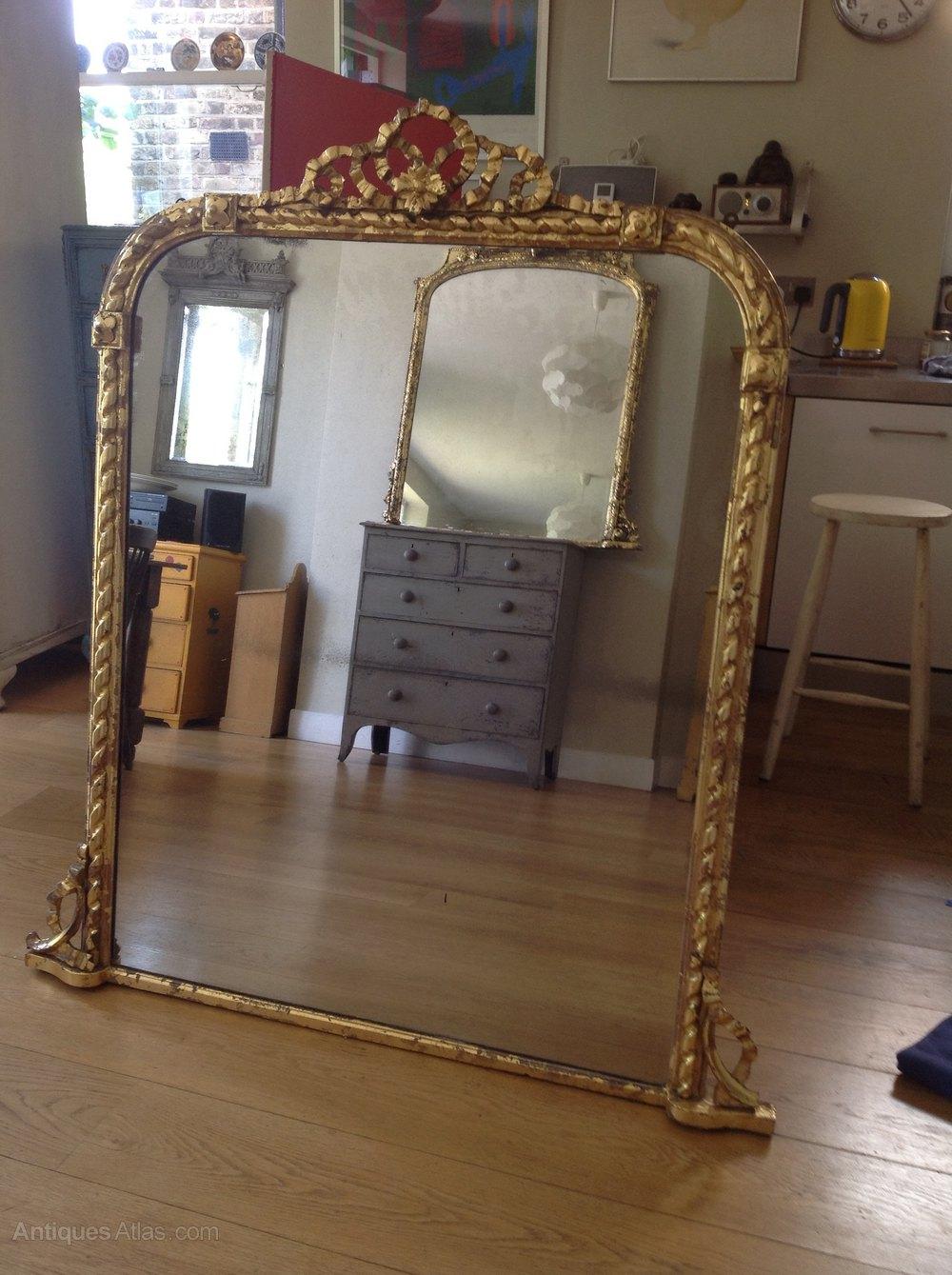 Antiques Atlas Large Victorian Mirror