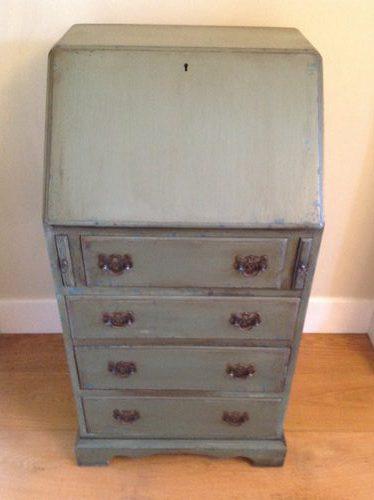 small green bureau antiques atlas. Black Bedroom Furniture Sets. Home Design Ideas