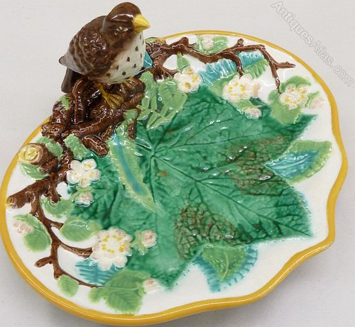 Antiques Atlas Antique George Jones Majolica Strawberry Dish