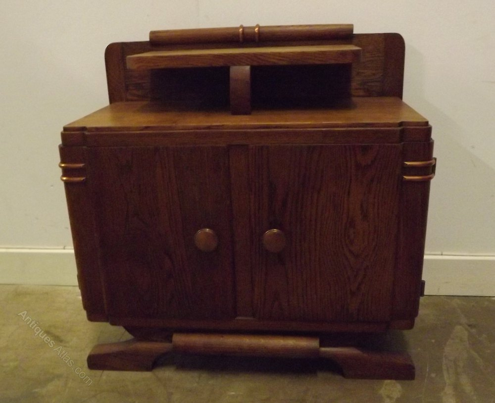 Art Deco Foyer Table : Art deco small hall table bedside cabinet antiques atlas