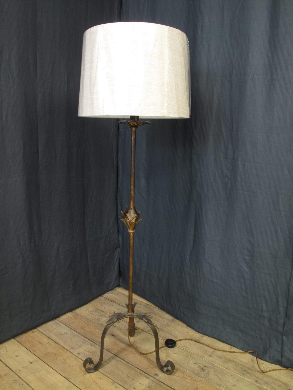Antiques Atlas Mid Century Spanish Bronzed Standard Lamp