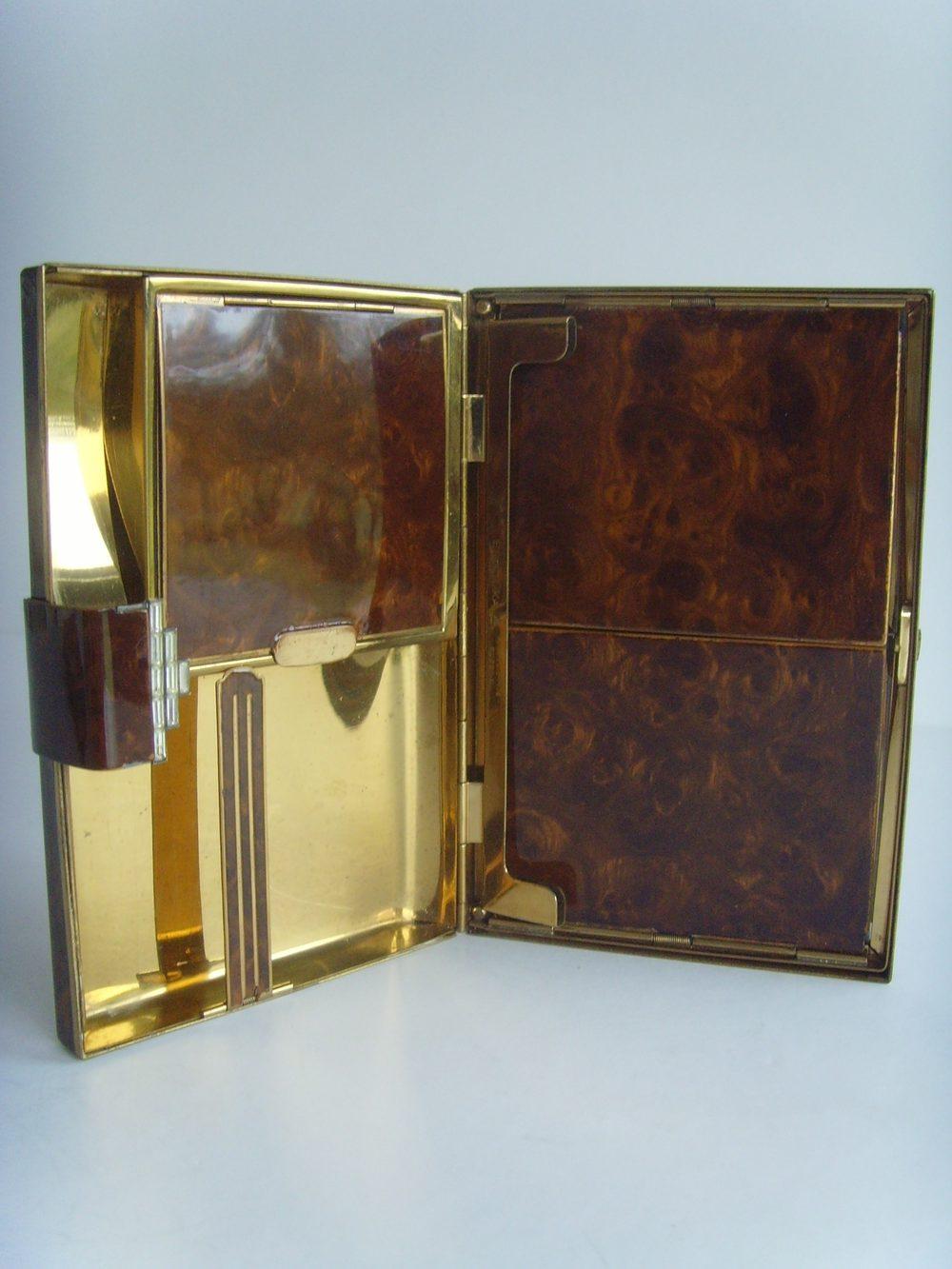 Antiques Atlas Art Deco Entouka Carryall Compact Vanity Case