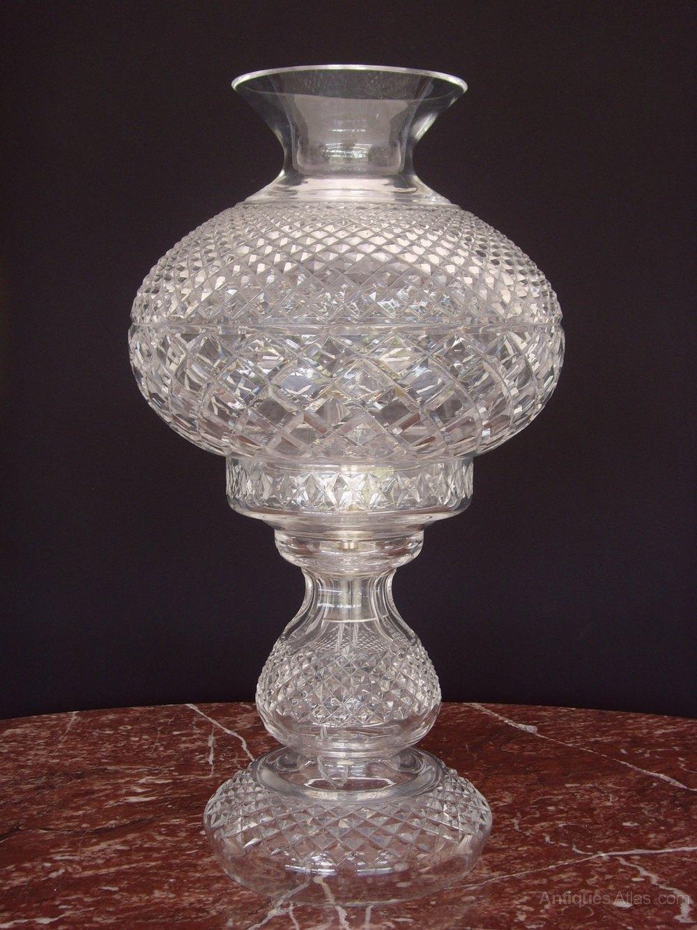 Antiques Atlas Large Hobnail Cut Glass Table Lamp