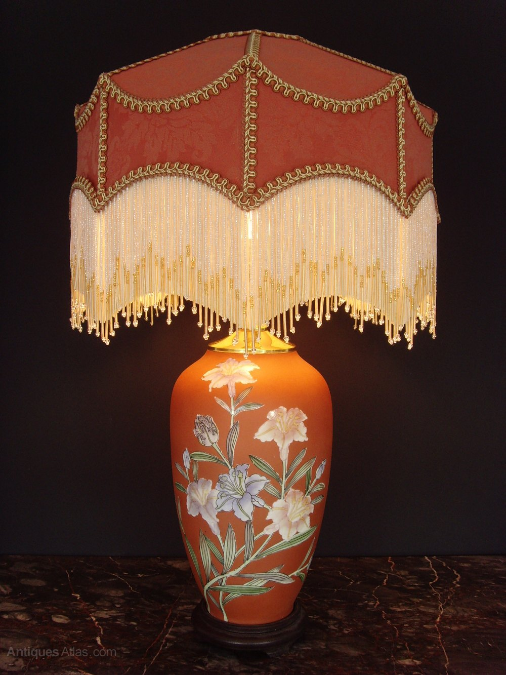 Antiques Atlas Oriental Porcelain Table Lamp Downton