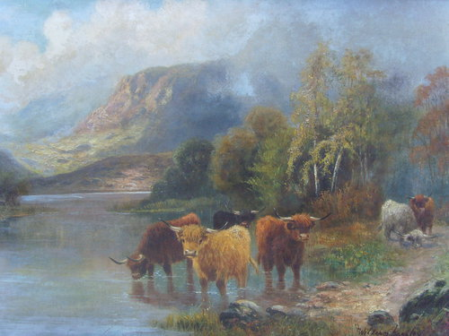 William Langley Paintings For Sale