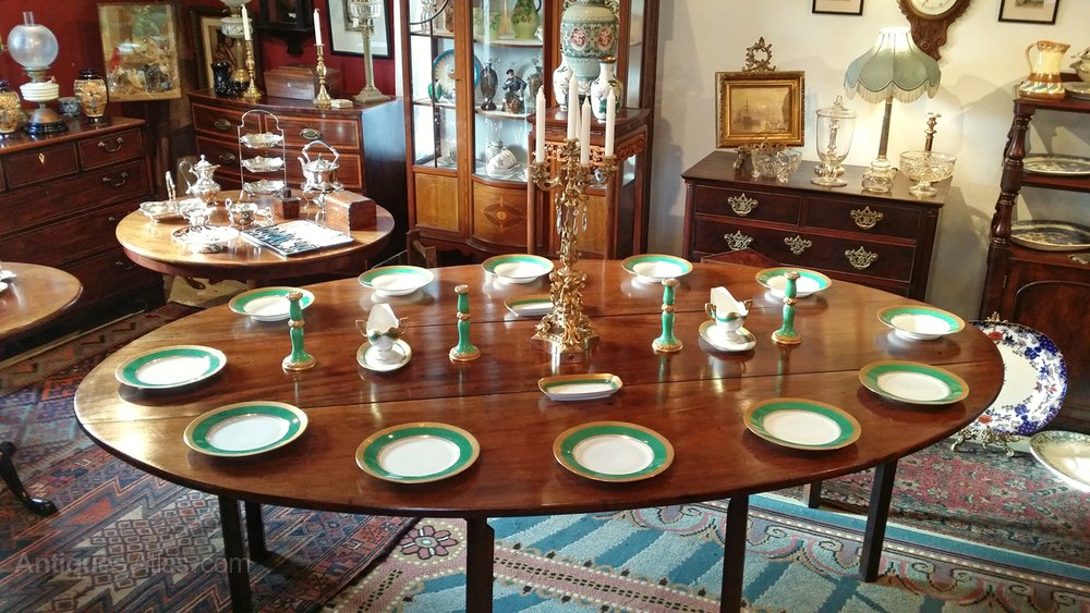 An Irish Cuban Mahogany Wake Dining Table Antiques Atlas